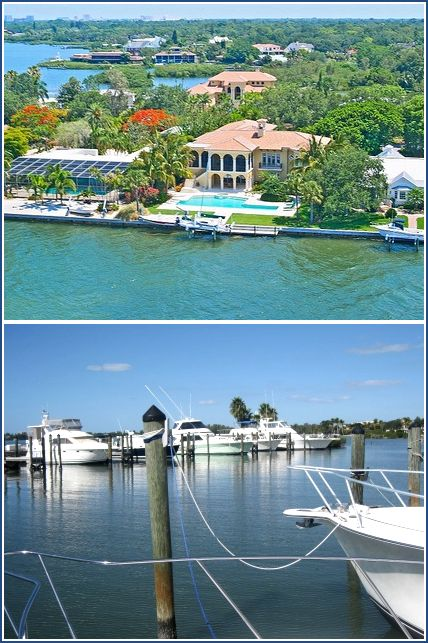 Oytser Bay Estate Home and Field Club Marina